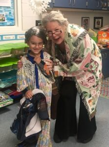 Cindy Martin on the 100th Day of School