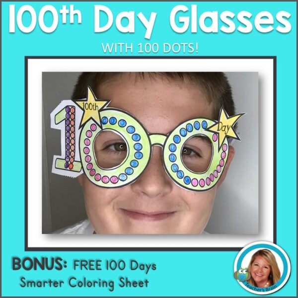 100th day glasses Cover
