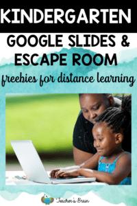 kindergarten google slides
