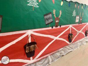 reindeer Christmas door decorations