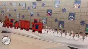 Winter School Decorations