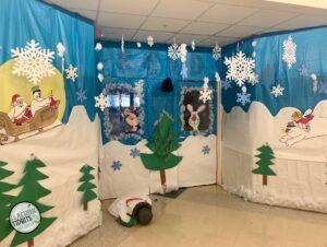 Frosty the Snowman Door Decoration