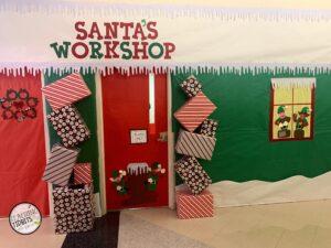 Santa's Workshop Door Decoration Contest