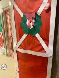 Christmas Door Decoration School Contest