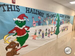 How the Grinch Stole Christmas school Decorations