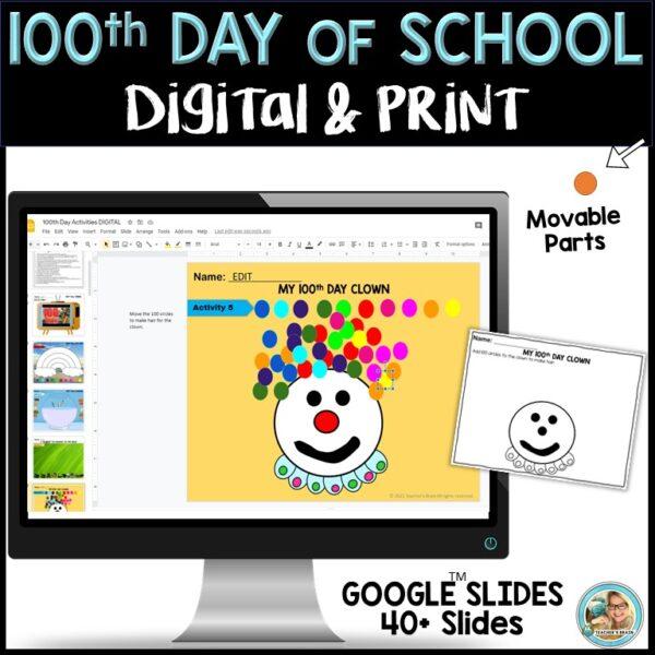 100th day digital