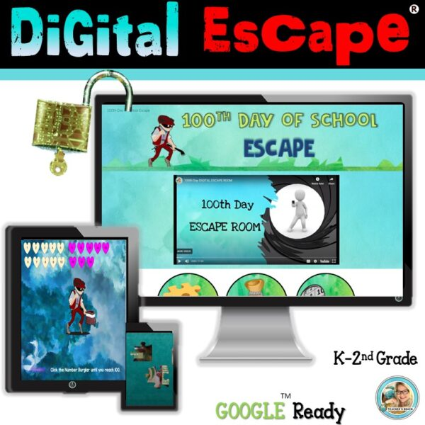 Digital 100th Day ESCAPE