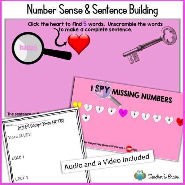 Valentine's Day digital escape 2