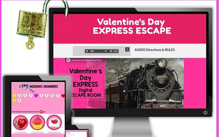 Valentine's Day digital escape