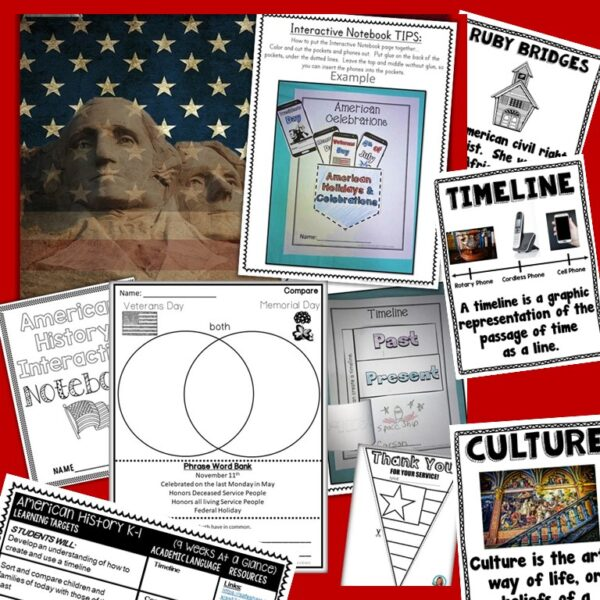 social studies for kindergarten and 1st Grade