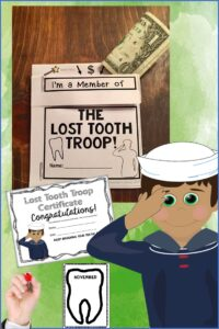 Lost Tooth Envelope