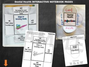 Dental Health Interactive Notebook