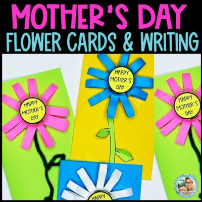 Mother's Day Flower Craft Card