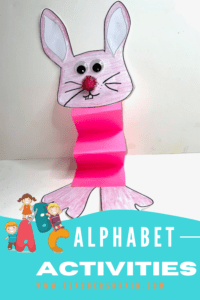 Letter B Craft BUNNY