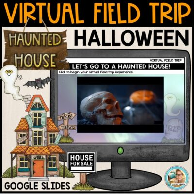 HAUNTED HOUSE FIELD TRIP COVER