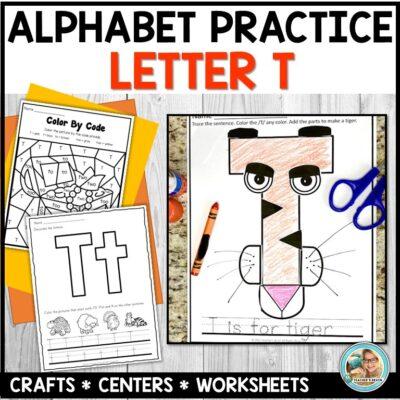 Letter T Centers