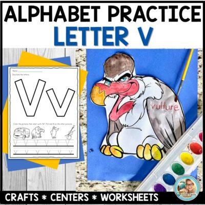 Letter V Practice