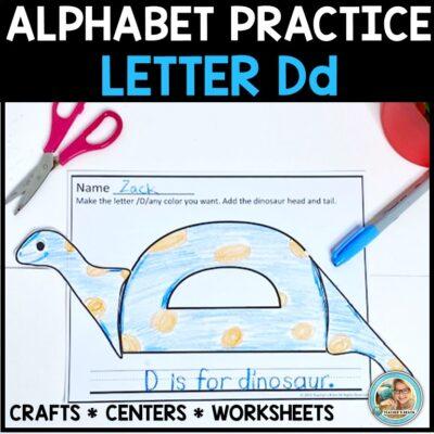 Letter D cover