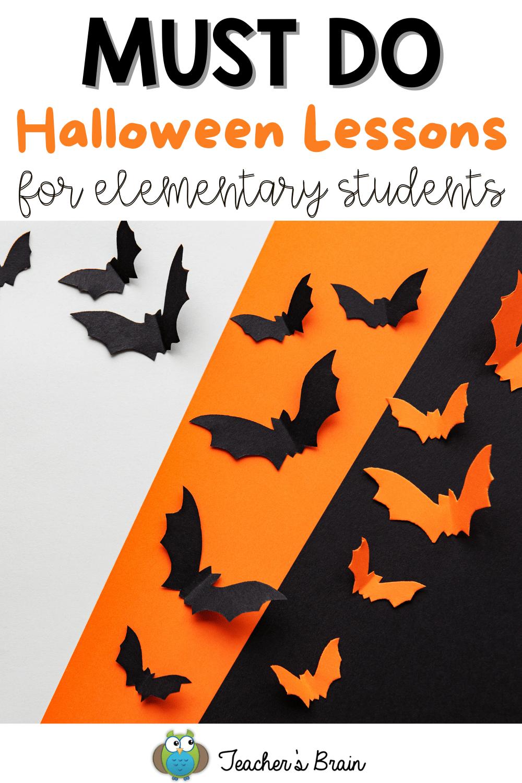 halloween lessons